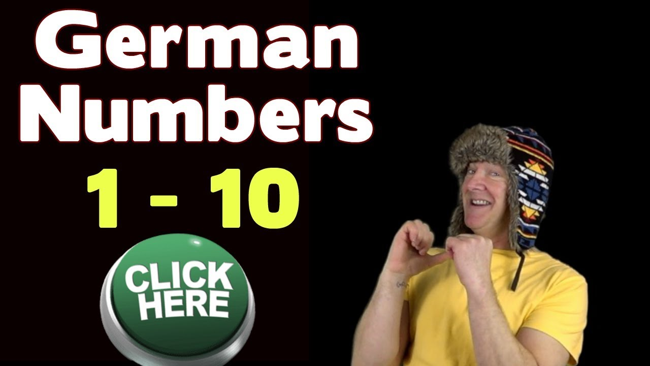 Learn German | 1 - 10 in German | Count in German with Numbers Song