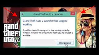 how to fix gta 5 has stop working (100% working)
