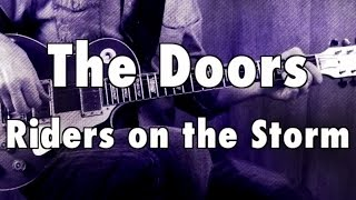 "How to Play ""Riders on the Storm"" by The Doors on Guitar - Lesson Excerpt"