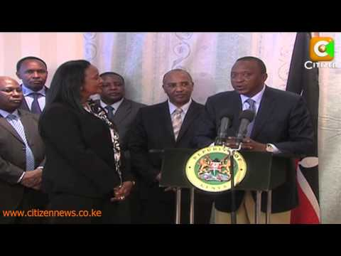 Cabinet Secretary Amina Mohamed Sworn In