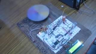 Wireless DC motor speed control using rf