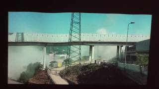 Danilo Colle alla Caplera Medesano la demolizione del ponte Morandi