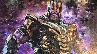 LEAKED FIRST LOOK AT THANOS IN AVENGERS ENDGAME