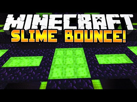 Minecraft 1.8 - SLIME BOUNCE PAKOUR! - w/Preston & Kenny