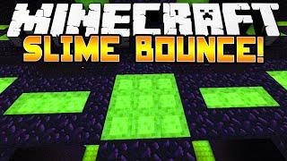 Minecraft 1.8 - SLIME BOUNCE PAKOUR! - w/Preston & Kenny