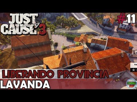 Just Cause 3 | LAVANDA | Liberando Provincia | En PC Español Sin Comentarios 1080p 60fps
