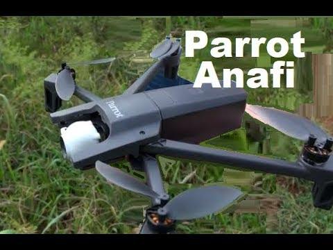 Parrot PF728000 Anafi Drone Foldable Quadcopter RC 4K HDR Camera Autonomous 1st Look