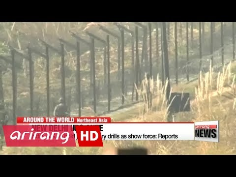 China-India border tensions intensify