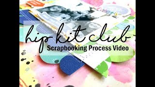 Scrapbooking Process #400 Hip Kit Club / Sense of Humor Required