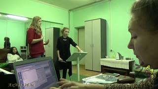 """Пед.практика. Работа над песней """"Ласточка"""" 1 и 2-ой уроки  с Альбиной Гущиной"""