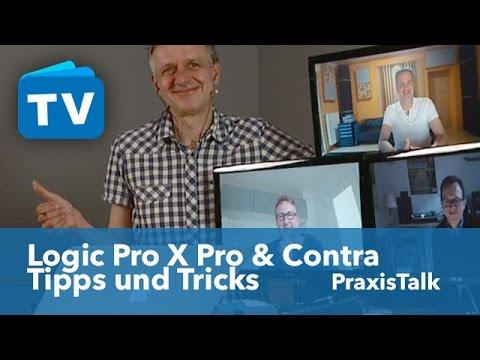 Logic Pro X ein Überblick 2  und ein paar Tipps und Tricks - Deutsch