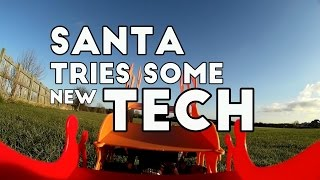 Santa Tries Some New Tech ▪ Hexa-sleigh Prototype ▪ Stunt Reindeer