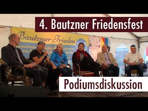 4. Bautzner Friedensfest  - Die Podiumsdiskussion (01.09.2017)