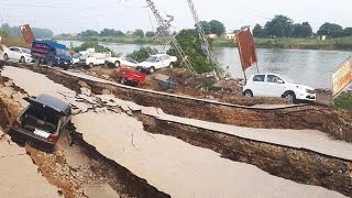The earth was groaning! Crazy 6.4 earthquake in Guwahati, Assam, India!