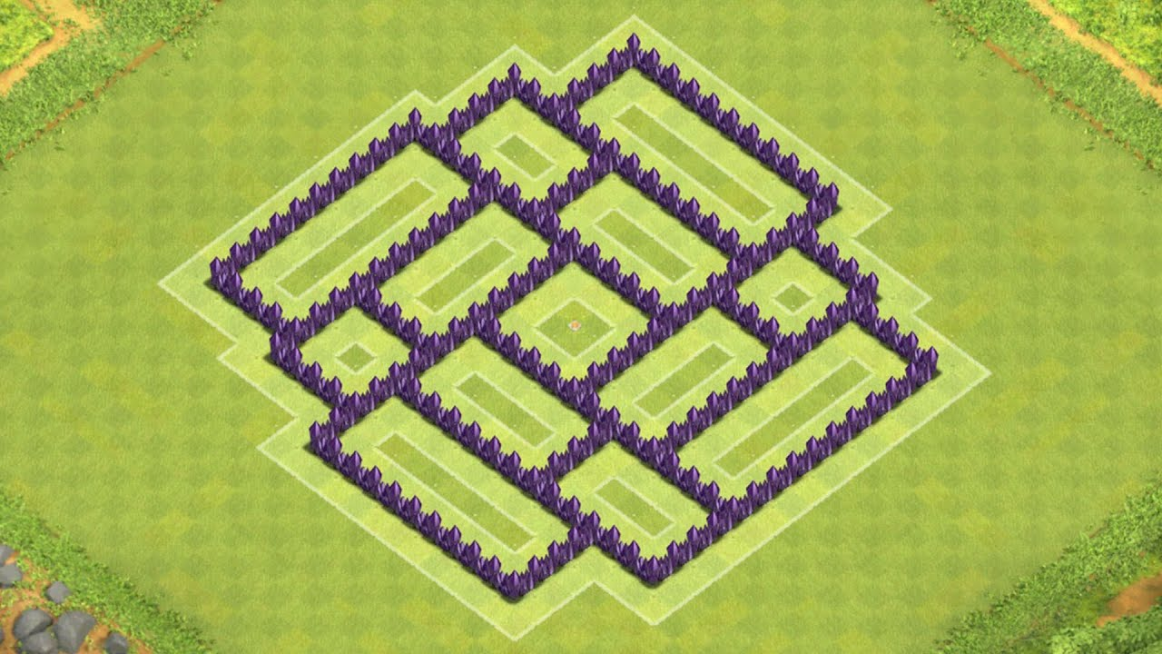 Coc Th 7 Base Layout 3