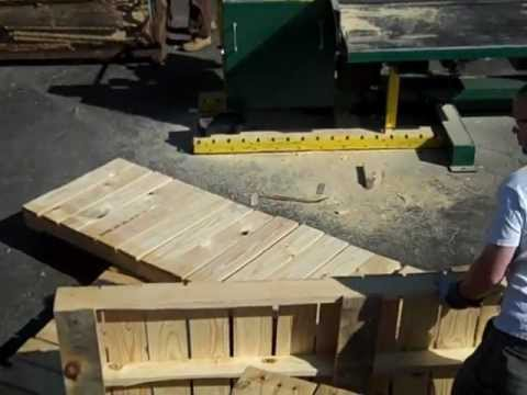 ICC Pallet Recycling Operation