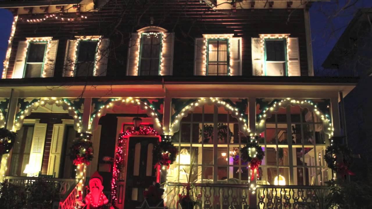 Cape May Christmas Lights - YouTube
