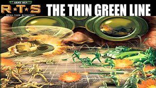 Army Men RTS - The Thin Green Line - Let`s Play Gameplay Part 1