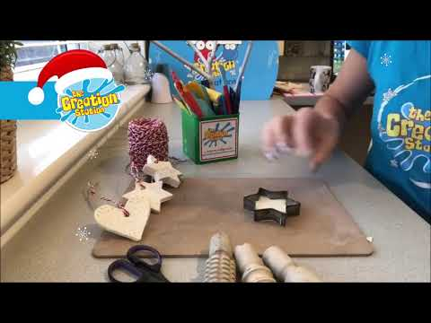 The Creation Station Christmas Countdown - Day 2 - Clay Decorations!