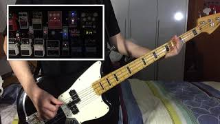 [Pedalboard Demo] Royal Blood - Hook, Line & Sinker [Bass+Effect Cover]