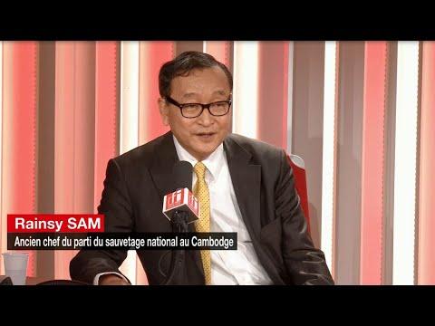 [Vidéo] L'opposant cambodgien Sam Rainsy lance un mouvement d'opposition