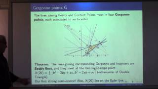 Rational trigonometry, generalized triangle geometry and four-fold incenter symmetry