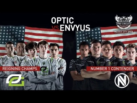 Gears of War 4 | OPTIC GAMING VS TEAM ENVYUS (nV) | MEXICO CITY GEARS ESPORTS OPEN (MAP 1)