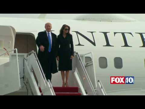 MAJOR MOMENT: Donald Trump & Family Exit Official White House Plane, Arrive in D.C. for Inauguration