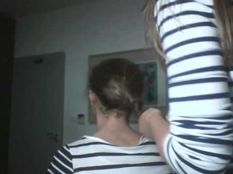 how to make a ballet bun curly hair or straight youtube