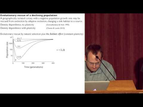 7. Russell Lande:  Demography, genetics & plasticity in colonization