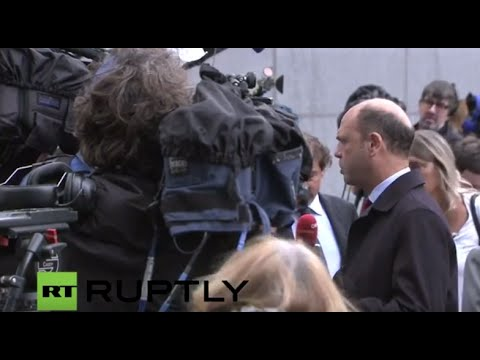 LIVE: EU justice and interior ministers discuss refugee crisis in Brussels: Arrivals