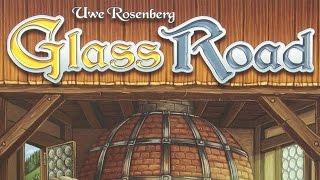 Как играть в настольную игру Glass Road (