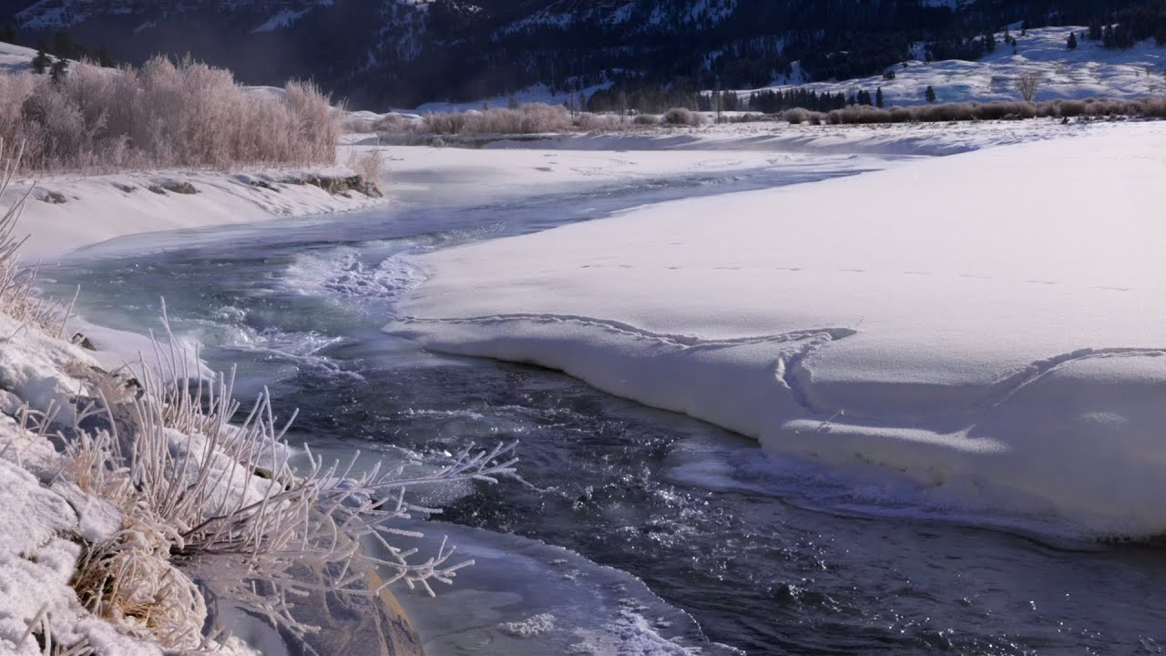 Sounds of Water in Yellowstone National Park for Sleep, Relaxation or Stress Relief