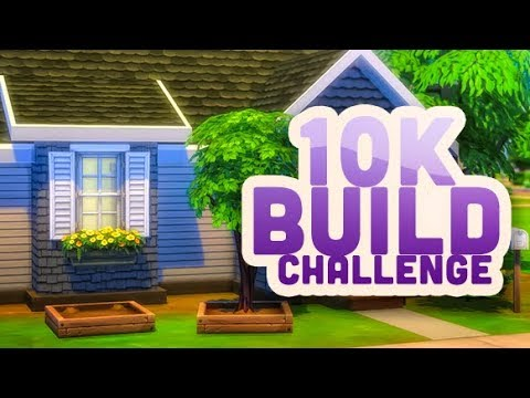$10,000 ? BUILD CHALLENGE | THE SIMS 4 thumbnail