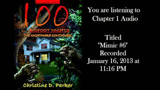 sounds listed in book 2 ch 1 100 bigfoot nights the nightmare continues