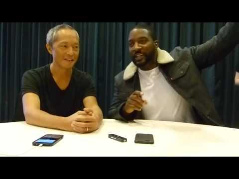 "SDCC 2017: Marvel's Inhumans  -  Ken Leung ""Karnack"" &  Eme Ikwuakor ""Gorgon"""