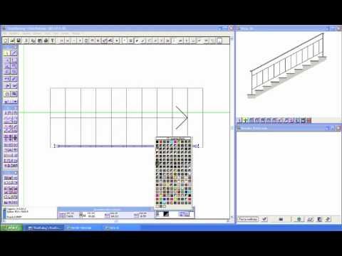Domus cad pro modulo stairrailing per costruire for Programma per costruire case