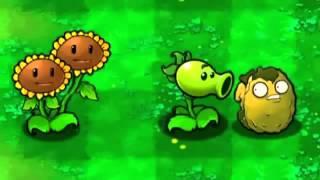 Растения против зомби прикол Plants vs  zombie