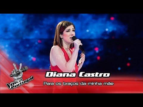 Diana Castro - 'Para os braços da minha mãe'   Gala   The Voice Portugal