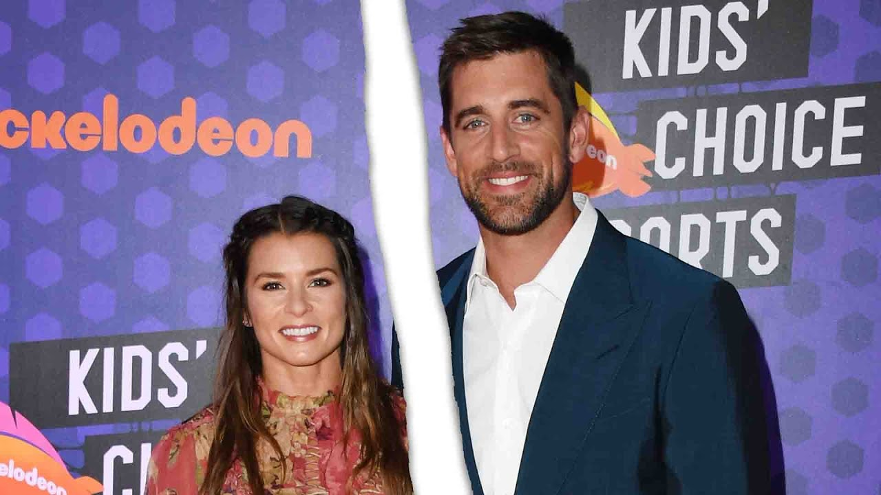 Did Danica Patrick and Aaron Rodgers break up?