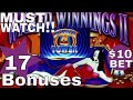 🎰 1 HOUR - Wicked Winnings 2 Slot Machine Bonuses & SUPER FREE GAME ★★$10 MAX BET★★WONDER 4 TOWER
