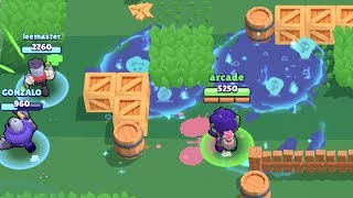 Super Rosa is OP in Brawl Ball Mode | Funny Moments & Glitches & Fails Brawl Stars Montage