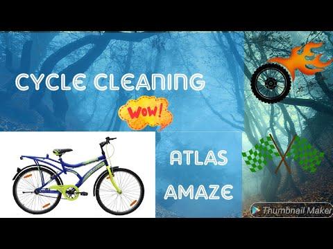 Cleaning my cycle /atlas amaze /viknesh views