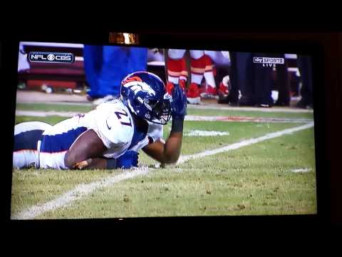 Knowshon Moreno 1st down celebration & crazy crying.