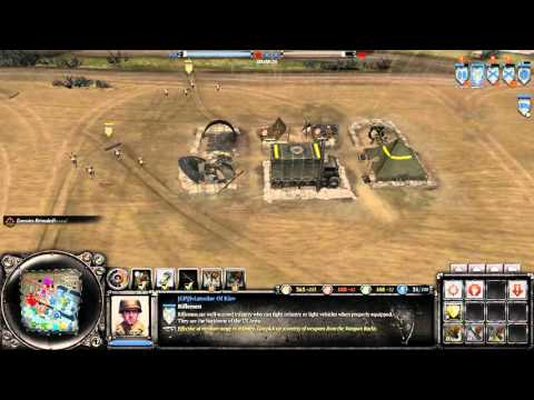 Company of Heroes 2 LIVE 4vs4 online multiplayer commentary battle | Port Of Hamburg