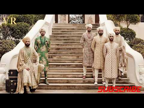 BEST COLLECTION OF SABYASACHI's SHERWANI DESIGNS || Wedding Dress for Men || VR CHANNEL ||