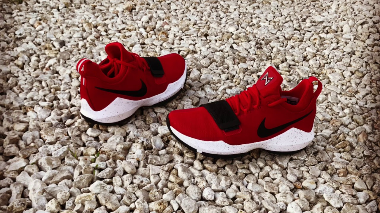 buy online 07ea5 19f60 PG1 University Red On Foot PG 1 Bulldog Detailed Look - YouTube