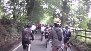 london to brighton cycle ride 2011 14 crash mov