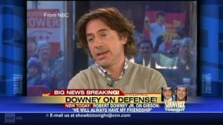 CNN: Robert Downey Jr. defends Mel Gibson