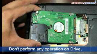 Recover corrupted hard drive data using DDR Professional Recovery Software